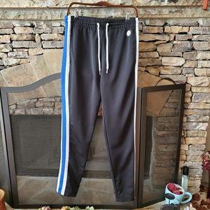 WT02 joggers/ Skinny track Black Pants